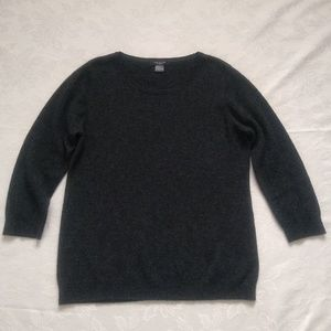 Ann Taylor cashmere relaxed sweater